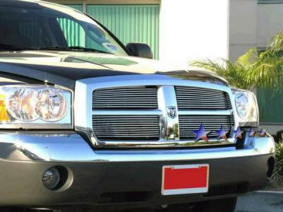 Grilles - Custom Fit Grilles - APS - Dodge Durango APS Billet Grille - Upper - Stainless Steel - D85444S