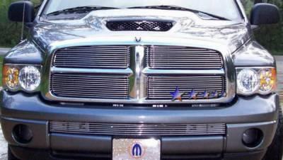 Grilles - Custom Fit Grilles - APS - Dodge Ram APS Billet Grille - Bumper - Aluminum - D85475A