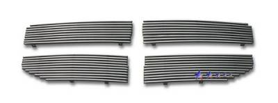 Grilles - Custom Fit Grilles - APS - Dodge Magnum APS Billet Grille - Upper - Aluminum - D86620A