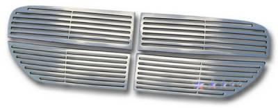 Grilles - Custom Fit Grilles - APS - Dodge Magnum APS CNC Grille - Upper - Aluminum - D95037A