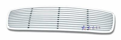 Grilles - Custom Fit Grilles - APS - Dodge Charger APS CNC Grille - 1PC - Upper - Aluminum - D95320A