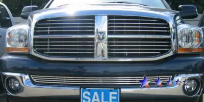 Grilles - Custom Fit Grilles - APS - Dodge Ram APS CNC Grille - Bumper - Aluminum - D95375A