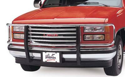 Grilles - Grille Guard - Westin - GMC C1500 Pickup Westin Classic Grille Guard - 35-1070