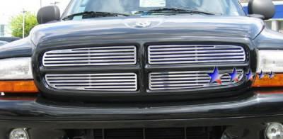 Grilles - Custom Fit Grilles - APS - Dodge Dakota APS CNC Grille - Upper - Aluminum - D95730A