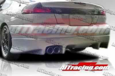 Avenger - Rear Add On - AIT Racing - Dodge Avenger AIT Racing TX-1 Style Rear Skirt - DA95HITX1RS