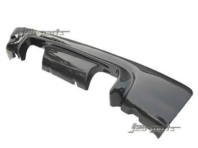 3 Series 2Dr - Rear Bumper - Custom - E46 M3 Carbon Fiber Diffuser