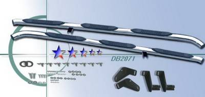 Suv Truck Accessories - Running Boards - APS - Dodge Ram APS Side Step Nerf Bars - DB2071