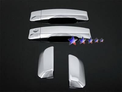 Suv Truck Accessories - Chrome Billet Door Handles - APS - Nissan Armada APS Door Handle Covers - DC05ARM