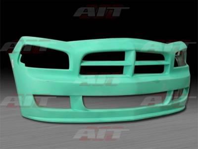 Charger - Front Bumper - AIT Racing - Dodge Charger AIT Striker Style Front Bumper - DC06HIRKSFB