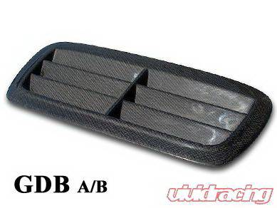 WRX - Hood Scoops - Chargespeed - Subaru WRX Chargespeed Outlet Style Hood Duct
