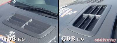 Impreza - Hood Scoops - Chargespeed - Subaru Chargespeed Outlet Style Hood Duct