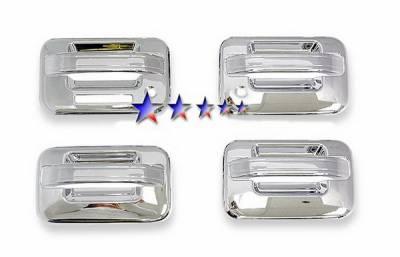 Suv Truck Accessories - Chrome Billet Door Handles - APS - Ford F150 APS Door Handle Covers - DC110A2