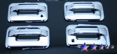 Suv Truck Accessories - Chrome Billet Door Handles - APS - Ford F150 APS Door Handle Covers - DC110B2