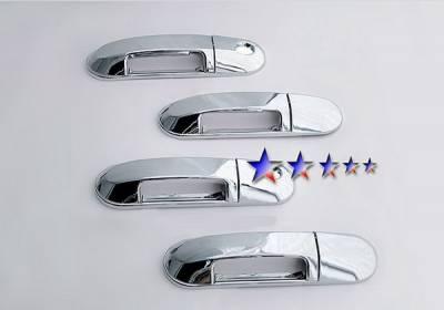 Suv Truck Accessories - Chrome Billet Door Handles - APS - Lincoln Aviator APS Door Handle Covers - DC111A