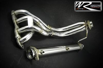 Exhaust - Headers - Weapon R - Honda Accord Weapon R Stainless Steel Race Header - 953-204-103