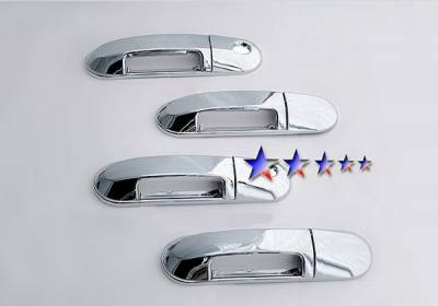 Suv Truck Accessories - Chrome Billet Door Handles - APS - Ford Explorer APS Door Handle Covers - DC111A