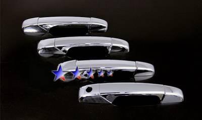 Suv Truck Accessories - Chrome Billet Door Handles - APS - Chevrolet Silverado APS Door Handle Covers - DC135B