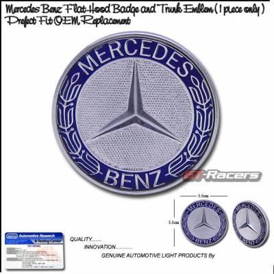 Accessories - Emblems - Custom - Mercedes Benz Hood Trunk Emblem