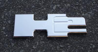 Accessories - Emblems - Custom - Hummer H2 Billet Chrome Emblem