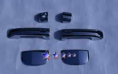 Suv Truck Accessories - Chrome Billet Door Handles - APS - Toyota Tundra APS Door Handle Covers - DC152B