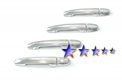 Suv Truck Accessories - Chrome Billet Door Handles - APS - Toyota Camry APS Door Handle Covers - DC154B