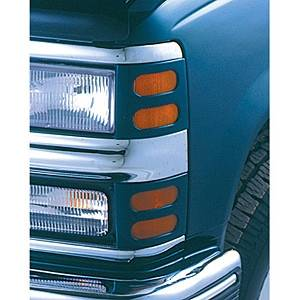 Headlights & Tail Lights - Headlight Covers - V-Tech - Ford Ranger V-Tech Headlight Marker Mask - 4516