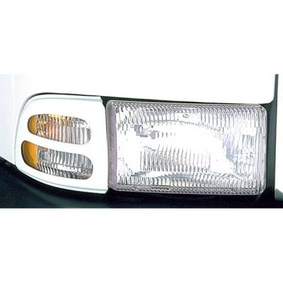 Headlights & Tail Lights - Headlight Covers - V-Tech - Dodge Ram V-Tech Headlight Marker Mask - 4519