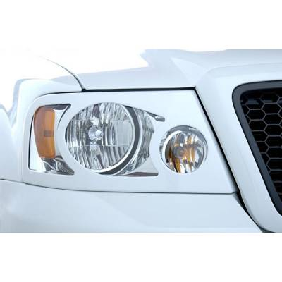 Headlights & Tail Lights - Headlight Covers - V-Tech - Ford F150 V-Tech Headlight Marker Mask - 4575