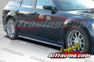 Magnum - Side Skirts - AIT Racing - Dodge Magnum AIT Racing STAR Style Side Skirts - DM05BMSTASS