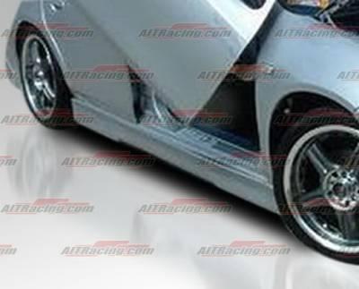 Neon 2Dr - Side Skirts - AIT Racing - Dodge Neon AIT Racing EVO Style Side Skirts - DN00HIEVO4SS4