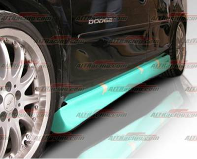 Neon 2Dr - Side Skirts - AIT Racing - Dodge Neon AIT Racing Showoff Style Side Skirts - DN00HISOSSS