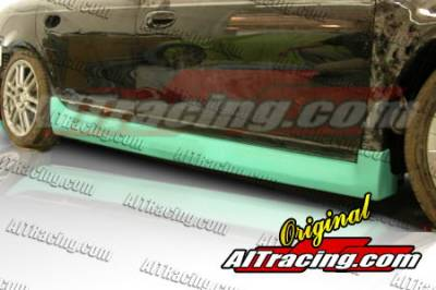 Neon 2Dr - Side Skirts - AIT Racing - Dodge Neon AIT Racing Striker Style Side Skirts - DN00HISTKSS