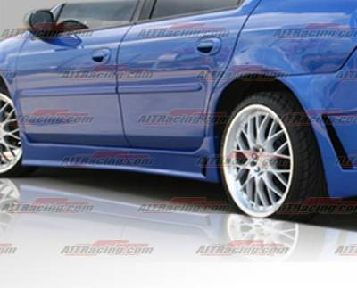 Neon 2Dr - Side Skirts - AIT Racing - Dodge Neon AIT Racing Zen Style Side Skirts - DN00HIZENSS