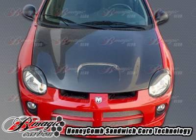 Neon 2Dr - Hoods - AIT Racing - Dodge Neon AIT Racing SRT Style Hood - DN03BMSRTCFH