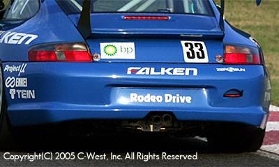 911 - Rear Bumper - C-West - Rear Bumper For Single Exhaust