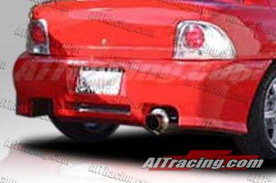 Neon 4Dr - Rear Bumper - AIT Racing - Dodge Neon AIT Racing Revolution Style Rear Bumper - DN95HIREVRB