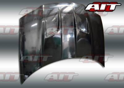 Stratus 2Dr - Hoods - AIT Racing - Dodge Stratus BMagic Type-3 FRP Hood - DS95BMT3FH