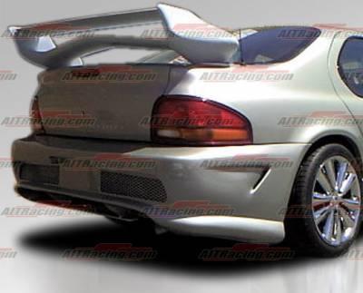 Cirrus - Rear Bumper - AIT Racing - Chrysler Cirrus AIT Racing Combat Style Rear Bumper - DS95HICBSRB