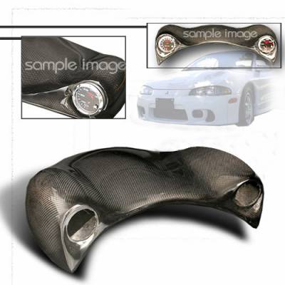 Car Interior - Gauges - Custom Disco - Mitsubishi Eclipse Custom Disco Frog Eye Gauge with 2 Pods - FE2-ELP95CF-ATW