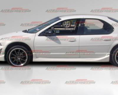 Stratus 2Dr - Side Skirts - AIT Racing - Dodge Stratus AIT Racing Drift Style Side Skirts - DS95HIDFSRB