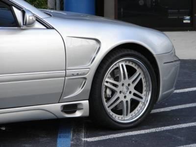 S Class - Fenders - Custom - 00-06 W220 L style fenders