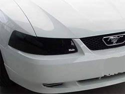 Headlights & Tail Lights - Headlight Covers - Wade - Wade Smoke Lightguard II Round Headlight Cover - 36662