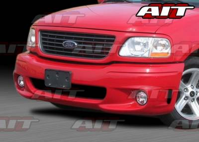 F150 - Front Bumper - AIT Racing - Ford F150 AIT Lighting 2 Style Front Bumper - F1597HILGT2FB