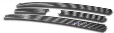 Grilles - Custom Fit Grilles - APS - Ford Expedition APS Billet Grille - Upper - Aluminum - F65321A
