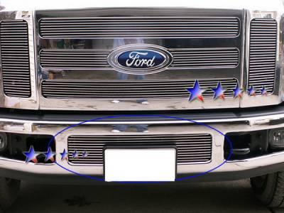 Grilles - Custom Fit Grilles - APS - Ford F250 APS Billet Grille - Bumper - Aluminum - F65328A