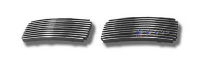 Grilles - Custom Fit Grilles - APS - Ford F450 APS Billet Grille - Upper - Aluminum - F65357A