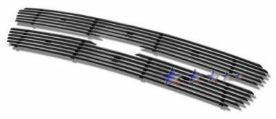 Grilles - Custom Fit Grilles - APS - Ford Expedition APS Billet Grille - Bar Style - Upper - Aluminum - F65729A