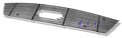 Grilles - Custom Fit Grilles - APS - Ford 500 APS Billet Grille - with Logo Opening - Upper - Aluminum - F65750A