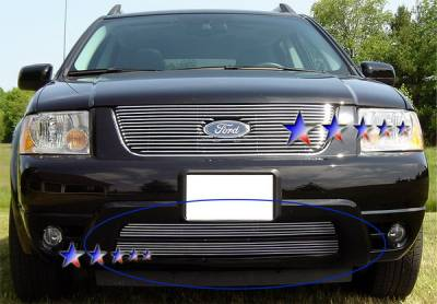 Grilles - Custom Fit Grilles - APS - Ford Freestyle APS Billet Grille - Bumper - Aluminum - F65760A