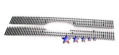Grilles - Custom Fit Grilles - APS - Ford Escape APS Billet Grille - Upper - Aluminum - F65783V